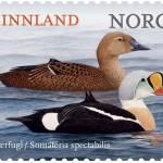 praktærfugl frimerke