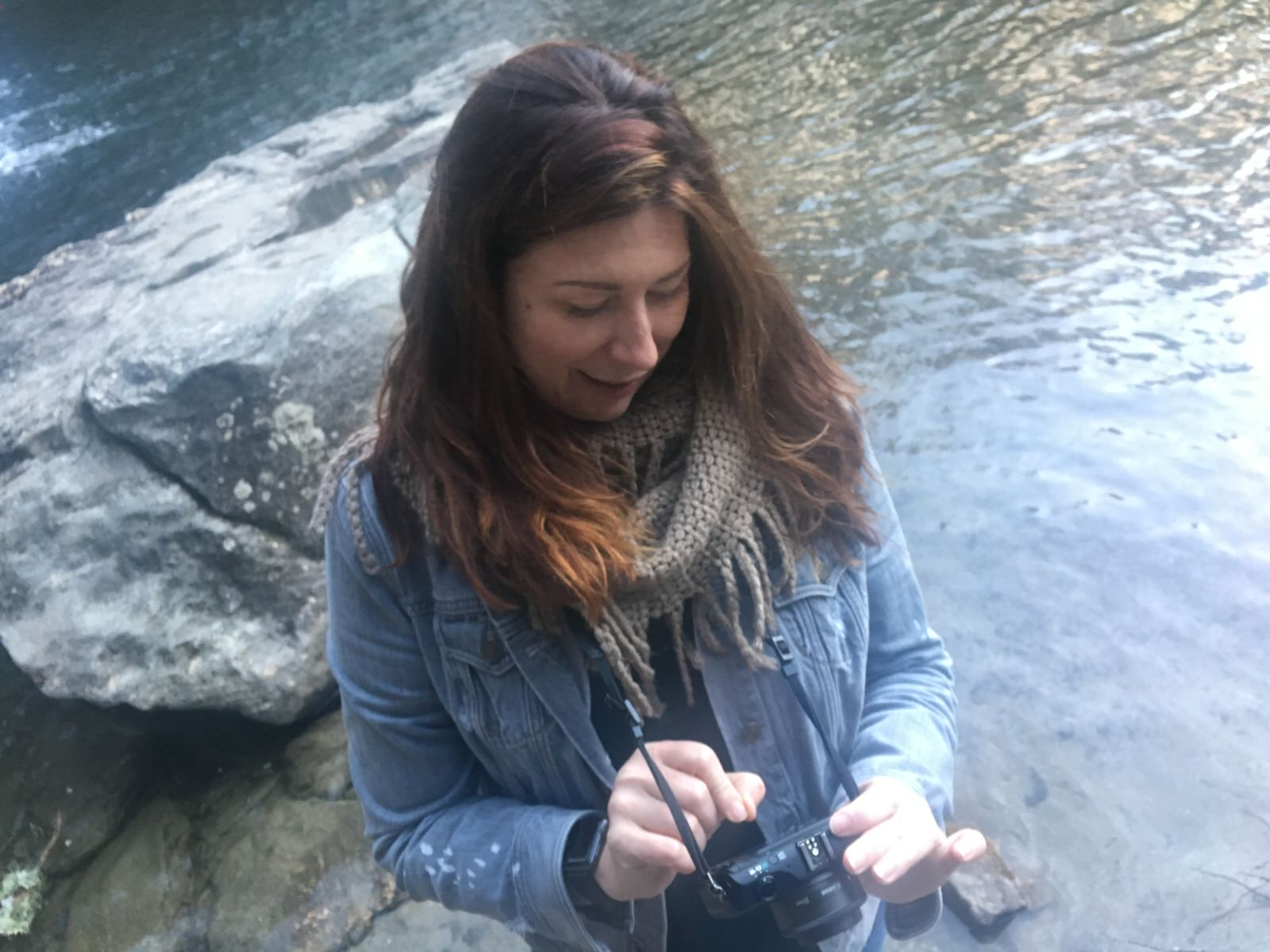 Fauna with her camera