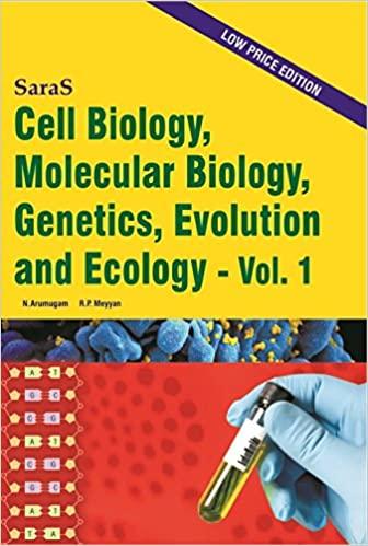 Cell Biology, Molecular Biology, Genetics, Evolution and Ecology