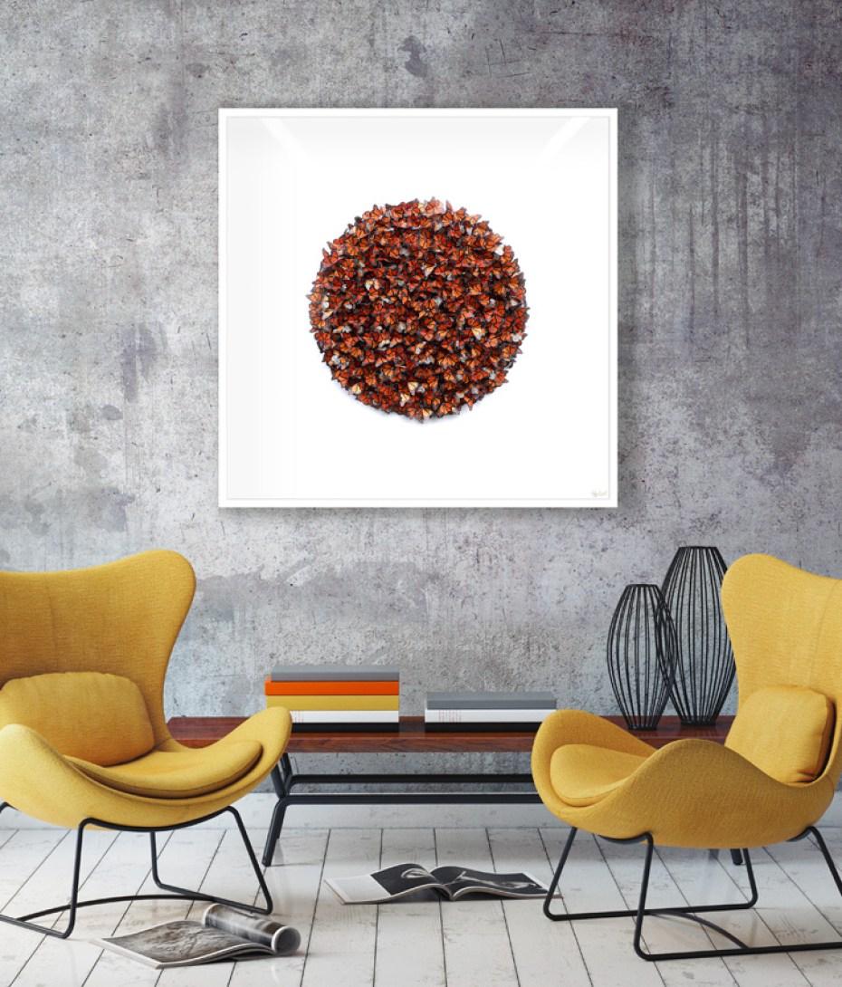 Faunart - Cluster Sphere - Monarch