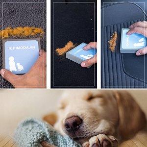 Poils d'animaux Brosse de nettoyage de tapis de Pad pour chien et de chat