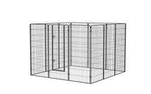Zolux Chenil Métal pour Chien 5,76 m² 24 x 24 x 18 m