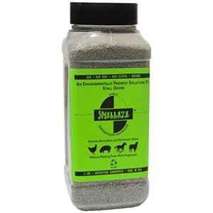 SMELLEZE naturel étal odeurs Retrait Sport: 50 Lb. Granules Destroy Stinky urine en toute sécurité