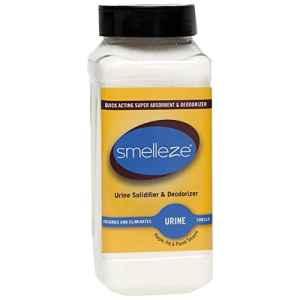 SMELLEZE urine solidifier et anti-odeurs: 50 Lb. Lit de voyage, portable urinoir et John urine Super Absorbant