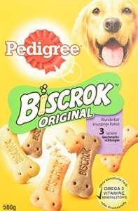 Pedigree biscrok friandises pour Chien 3Köstlichen goût, Lot DE 6(6x 500g)