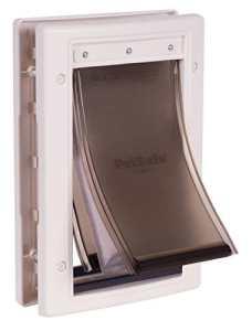 PetSafe – Porte pour Animaux pour Conditions Climatiques Extrêmes (S) – Très Isolante – Triple protection Contre le Froid et le Chaud