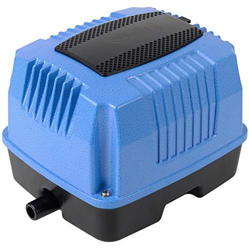 MAGAI Pompe à oxygène de Plus en Plus résistante en Alliage d'aluminium 25W-105W pour étang, Culture hydroponique (Wattage : 105W)
