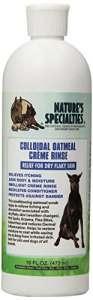 Nature de spécialités de flocons d'avoine Crà ¨ me rincer Dog Conditioner, 453,6gram