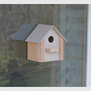 Fenêtre Maison avec Film de protection pour fenêtre