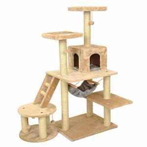 Andre Pet Supplies Grand Chat Arbre Chaton gratter après la Tour d'escalade Animal de Compagnie lit pour Animal de Compagnie nid pour Chat nid de Chat