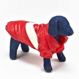 Hip Doggie water-repellent coat Red 'V'Coat Size XS (japan import)
