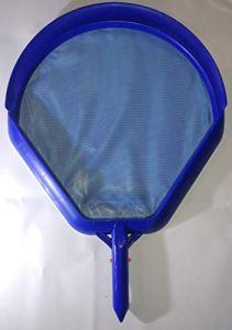 Unbekannt Épuisette de Nettoyage de Piscine profilée avec Cadre en Plastique renforcé Bleu pour Perche télescopique 400 x 380 mm