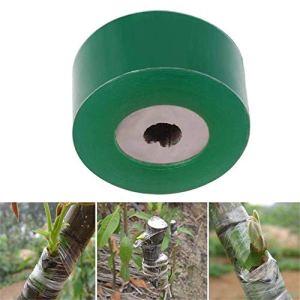 wuudi Chambre d'enfant, du Ruban à greffer Jardin Greffe Bande élastique Ruban adhésif Autocollant biodégradable 3cm * 100M