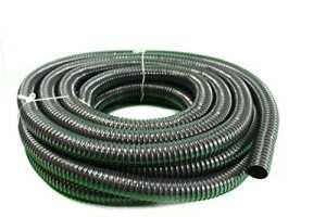 Tuyau d'arrosage HeRo24 – En spirale – Pour bassin et ruisseau – 40mm – 15m de long