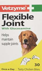 Vetzyme Flexible Joints for Dogs Tablets (Pot Size: 30 Tablets)