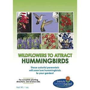 GEOPONICS Hummingbird Nectar flowerBulk + 8 Bonus Gardening EBooks Mix Pack