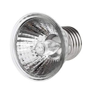 Togames-FR 25W 50W 75W Tortue Se Chauffant UV lumière E27 Amphibiens lézards Chauffage Lampe Portable Lampe à Spectre Complet Reptile