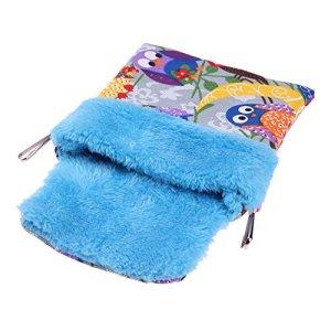 hongxyunf Loro Couverture pour Animaux domestiques, Hamster, Sac de Couchage, lit en Coton, nid d'animal de Petite Taille