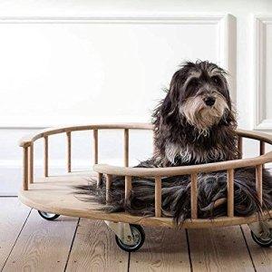 PlayGround Terrain de Jeu pour Animal Domestique Canapé (Chêne)