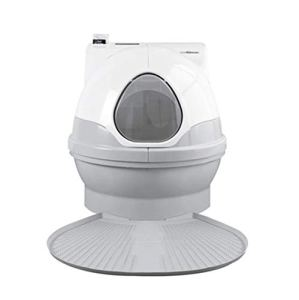 Wen Ying Toilette Automatique for Chat Toilette Intelligente for Chat Toilette électrique for Animal de Compagnie Toilette for Grand Animal de Compagnie Pratique Toilette pour Animaux