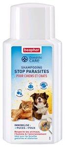 Beaphar – DiméthiCARE, shampooing stop parasites – chien et chat – 200 ml