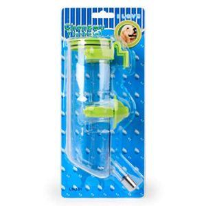 MachinYesell Cage pour Chien Peut être Suspendu Eau Potable 350ml Dispositif de fontaines à Boire automatiquement Boire des Fournitures pour Animaux de Compagnie Facile à Transporter