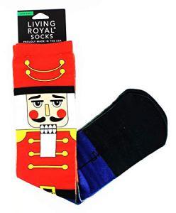 Living Royal Christmas Nutcrackers Knee High Socks