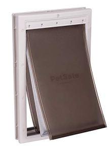 PetSafe – Porte pour Animaux pour Conditions Climatiques Extrêmes (L) – Très Isolante – Triple Protection Contre le Froid et le Chaud