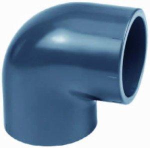 PVC angle 90°, avec manchon taille de 10 à 110 mm 16mm
