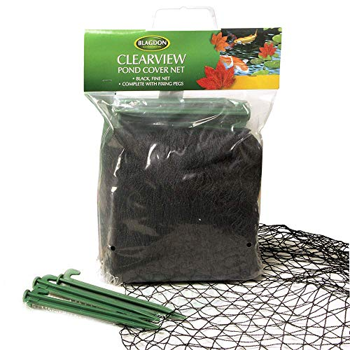 Blagdon Clearview Filet de protection fin 6 x 5 m (Noir)