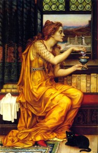 """""""The Love Potion"""" by Evelyn de Morgan"""