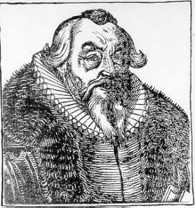 Purported image of Dr. Johann Georg Faust (approx. 1480 – 1540)