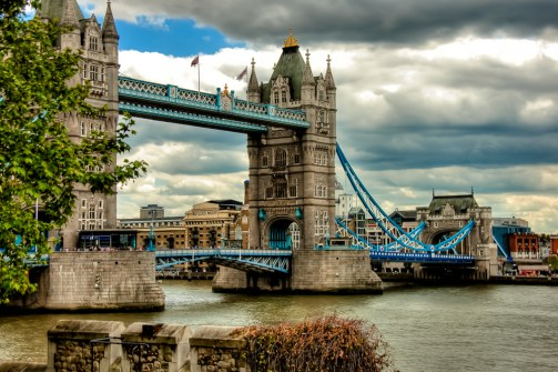 The Tower Bridge - London