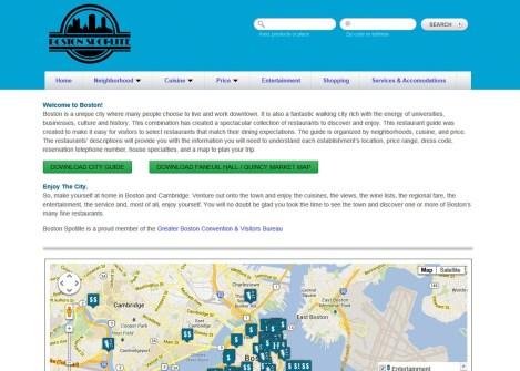 BostonSpotlite.com | westchester ny web design