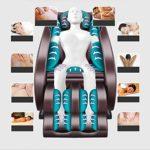 Chaise de massage LKU Fauteuil de massage maison entièrement automatique Claus Capsule de massage multifonction à pétrissage complet du corps, 2