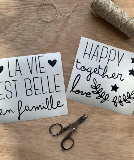 planche-sticker-la-vie-est-belle-faut-rever-for-ever.JPG