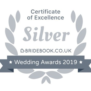bridebook award winner badge 2019