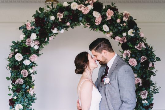 flower arch hire essex Sophie Oldhamstead Photography Baddow Park House