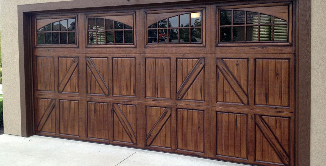 Faux Wood Garage Doors Fauxkc