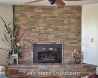 Faux Stone Fireplace | The Blog On Cheap Faux Stone Panels
