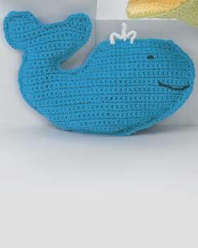 Version Whale Bain Crochet