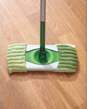 Couverture en tricot Mop