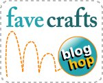 Blog Hop Button Finished on the 15th: FaveCrafts Blog Hop for July
