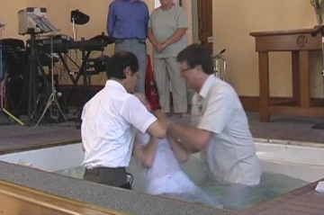 Abigail's Baptism