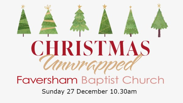 Sunday Worship 27 December 2020