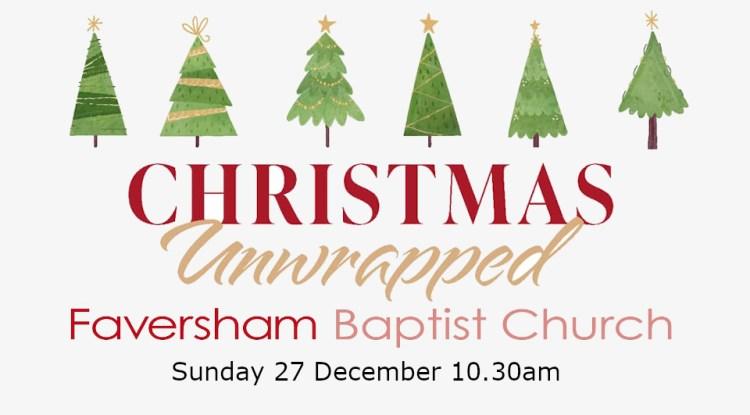Sunday Worship 27 December 2020