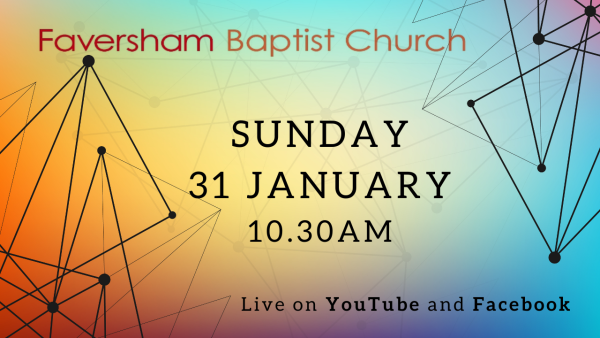 Sunday Worship 31 January 2021