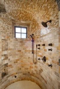 Brick tile shower - FaveThing.com