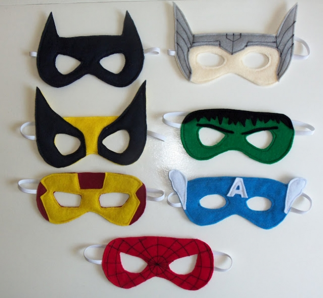 superhero masks in bulk