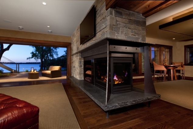 Substantial two room fireplace  FaveThingcom